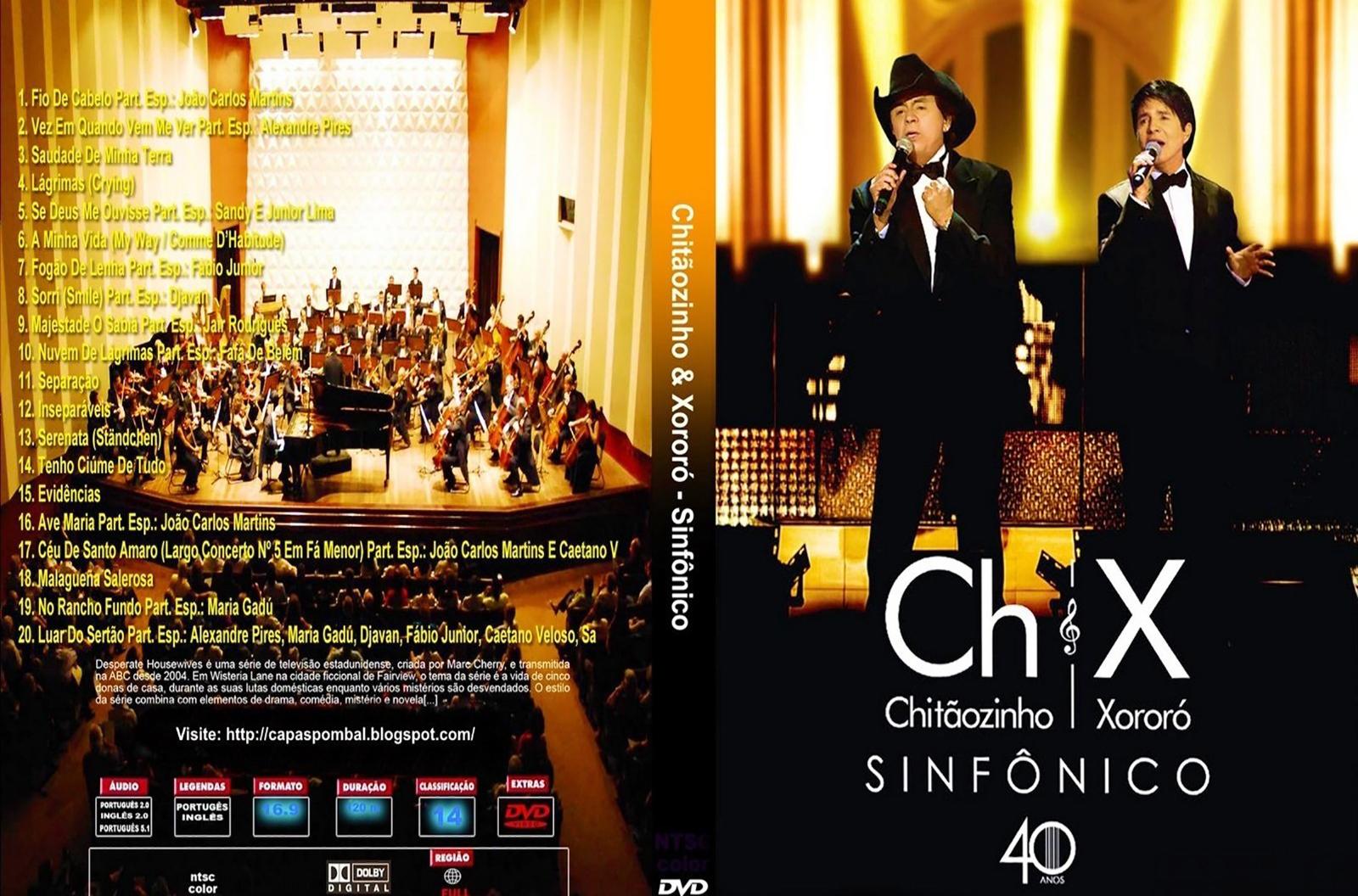 cd chitaozinho e xororo 40 anos audio dvd