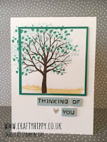 Learn how to create these gorgeous Sheltering Tree cards by Stampin' Up!