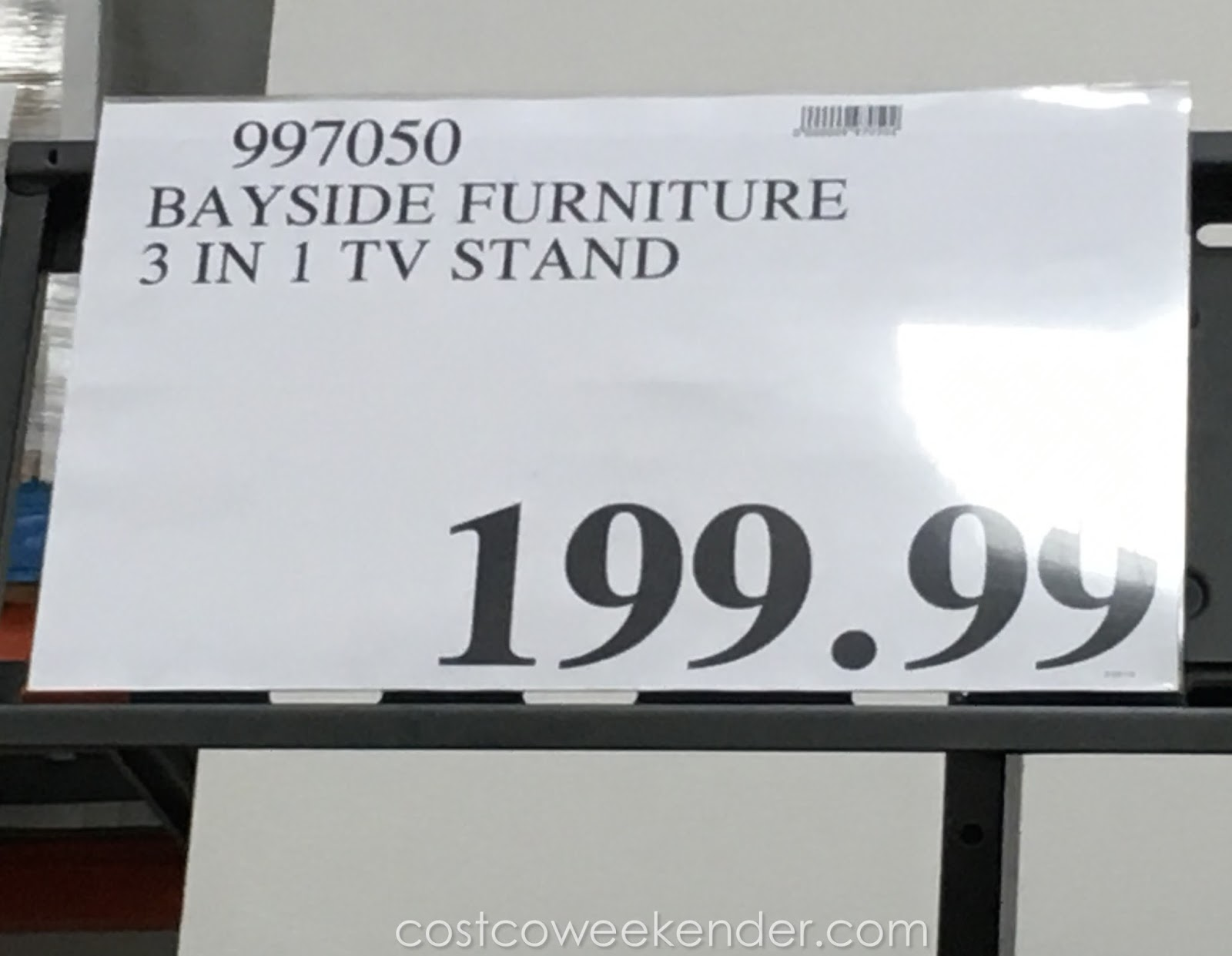 Costco In Store Black Friday Specials >> Bayside Furnishings 3-in-1 TV Stand | Costco Weekender