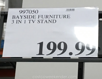 Costco 997050 - Bayside Furnishings 3-in-1 TV Stand - great for any living room or family room