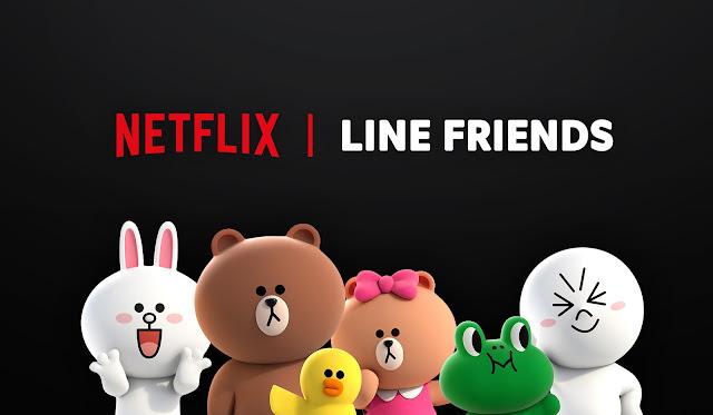 LINE FRIENDS 今(12)日宣布與Netflix合作之「BROWN & FRIENDS」Netflix 原創卡通影集即將上線。