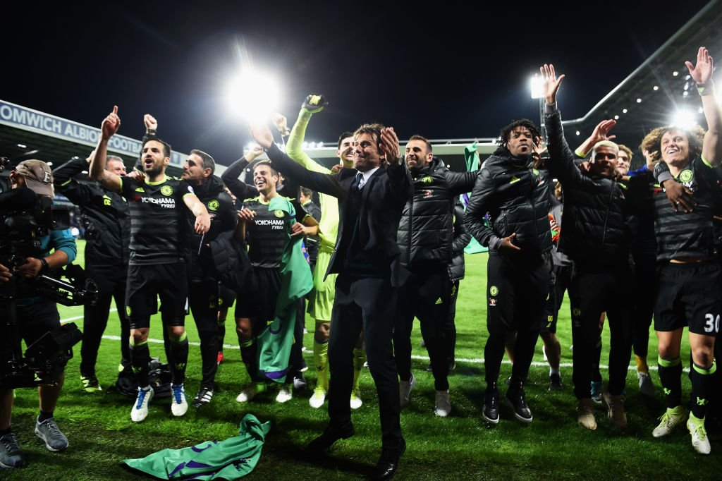 Chelsea Juara Premier League 2016-2017