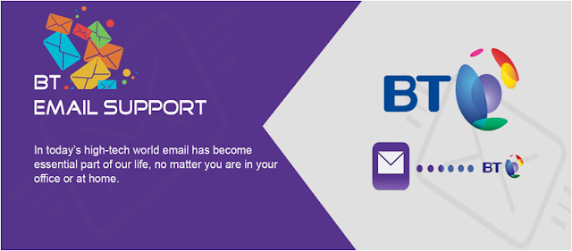 BT email support