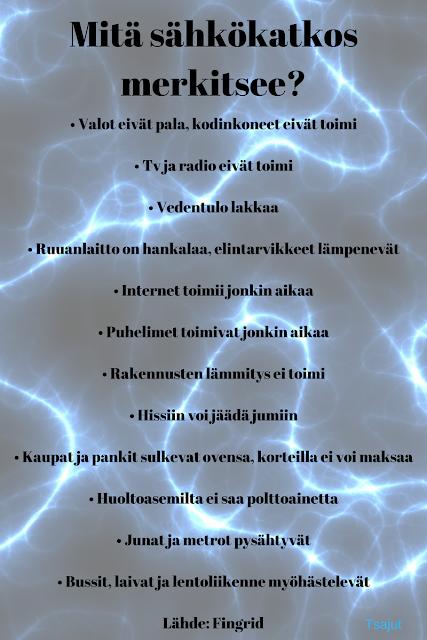 sähkökatkos