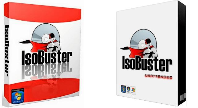 تحميل برنامج IsoBuster لاسترجاع البيانات من ال DVD و CD التالفة مع التفعيل
