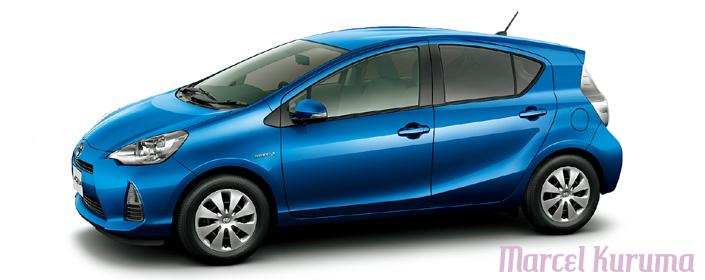 Marcel Japan Cars Reviews Toyota Aqua Color Body Option