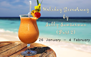 """Holiday GiveAway by Sally Samsaiman (Part 2)"""