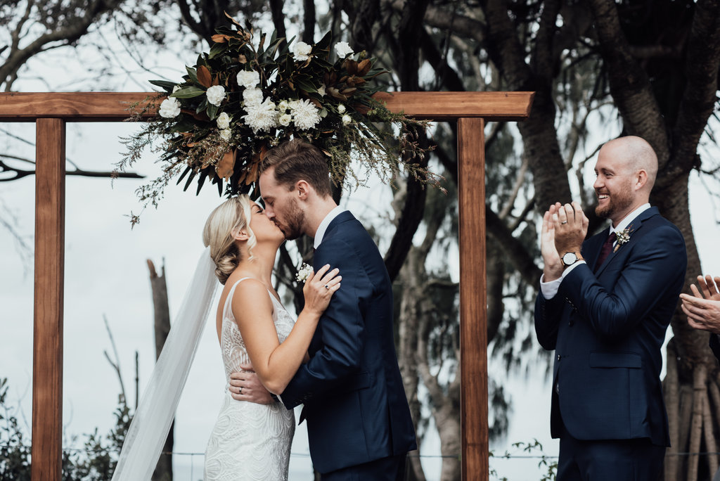 LOVE: KATE AND BYRON | RUSTIC COASTAL WEDDING KINGSCLIFF NSW