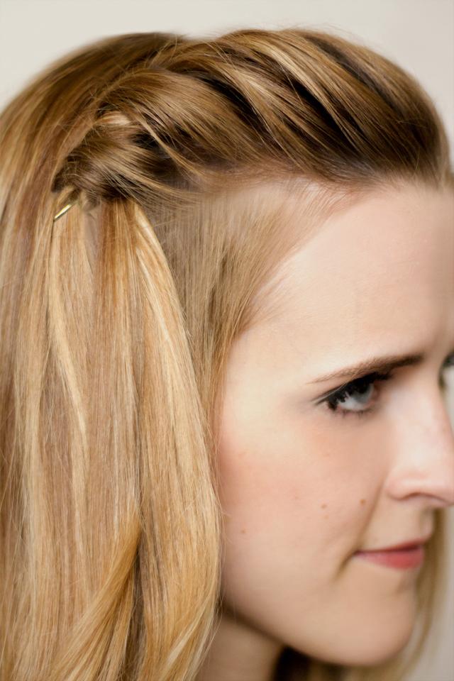 Amazing Hair And Make Up By Steph How To Twist Braid Short Hairstyles Gunalazisus
