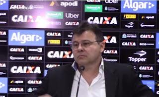 Presidente diz que Ceará ainda fará de 3 a 4 contratações para o início de 2019