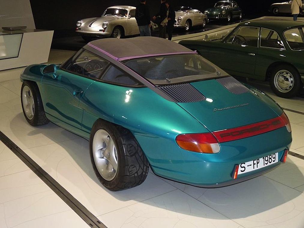 Px Porsche Panamericana Prototype Based On Carrera Backleft A