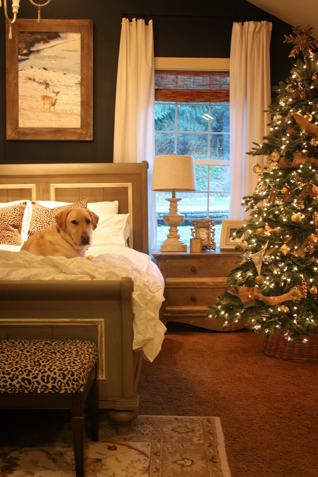 Bedrooms Bedroom Decorating: My Sweet Savannah: ~balsam Hill Trees~{12 Bloggers Of