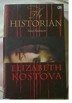 Novel the Historian by Elizabeth Kostova