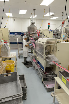 PEZ Candy getting packaged