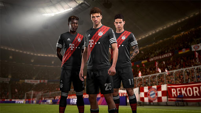 Bayern Munich x adidas Digital 4th Kits