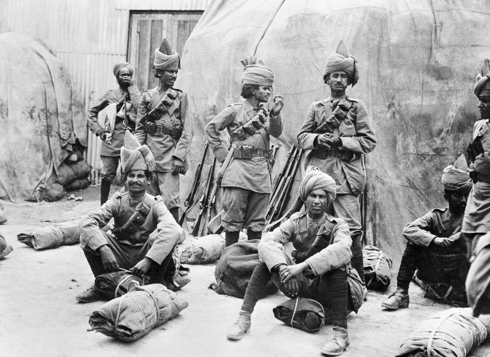 Indian Pows In The Ottoman Empire During Wwi