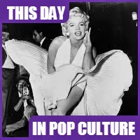 "Marilyn Monroe's skirt scene in ""The Seven Year Itch"" was filmed on September 15, 1954."
