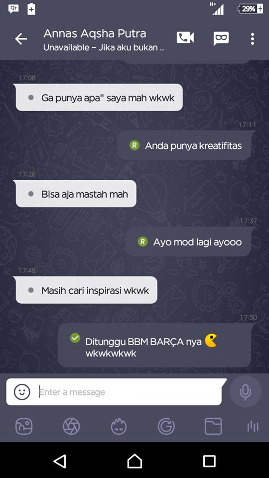 Download Apk Bbm Mod Tema Coc