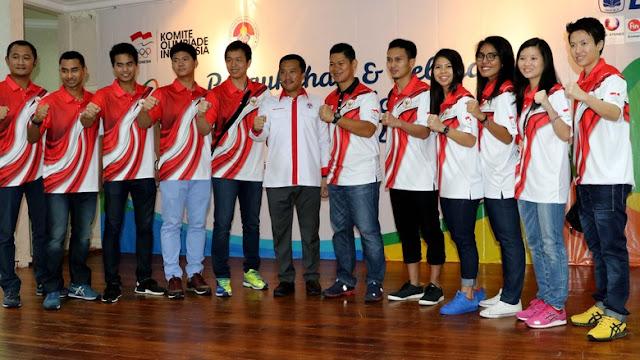 10 Atlet Bulutangkis olimpiade 2016 Asal Indonesia Berangkat ke Brasil