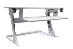 Volante sit to stand attachment with keyboard platform