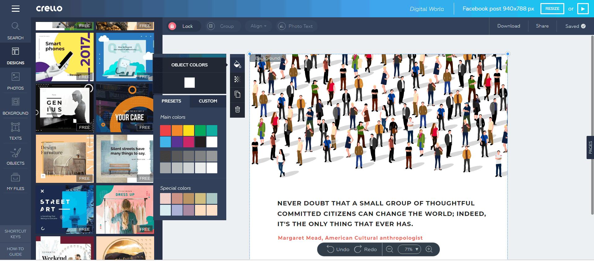 Online Visual Editor Crello Shares Growth Story / Digital