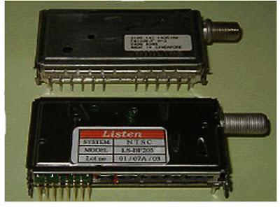 Hình 6 - Bộ kênh và trung tần trên các máy Tivi LCD