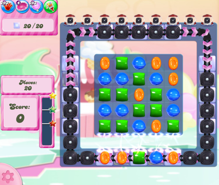 Candy Crush Saga level 2810