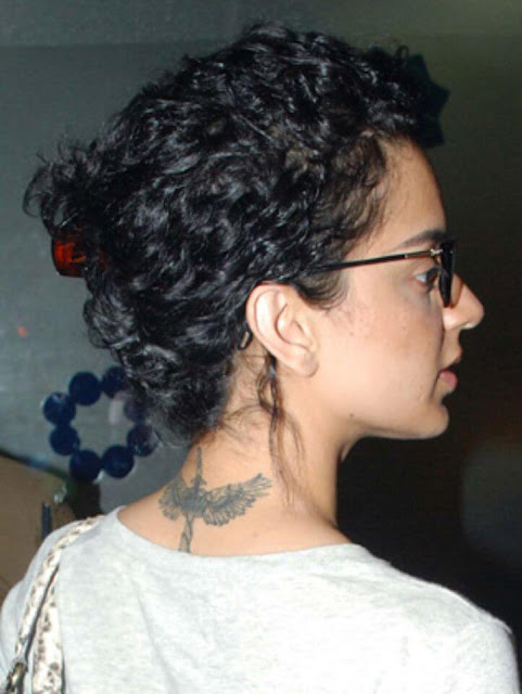 Kangana Ranaut tattoo meaning photo