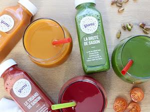 Les jus de légumes Yumi ou comment faire le plein de bonnes choses en une gorgée