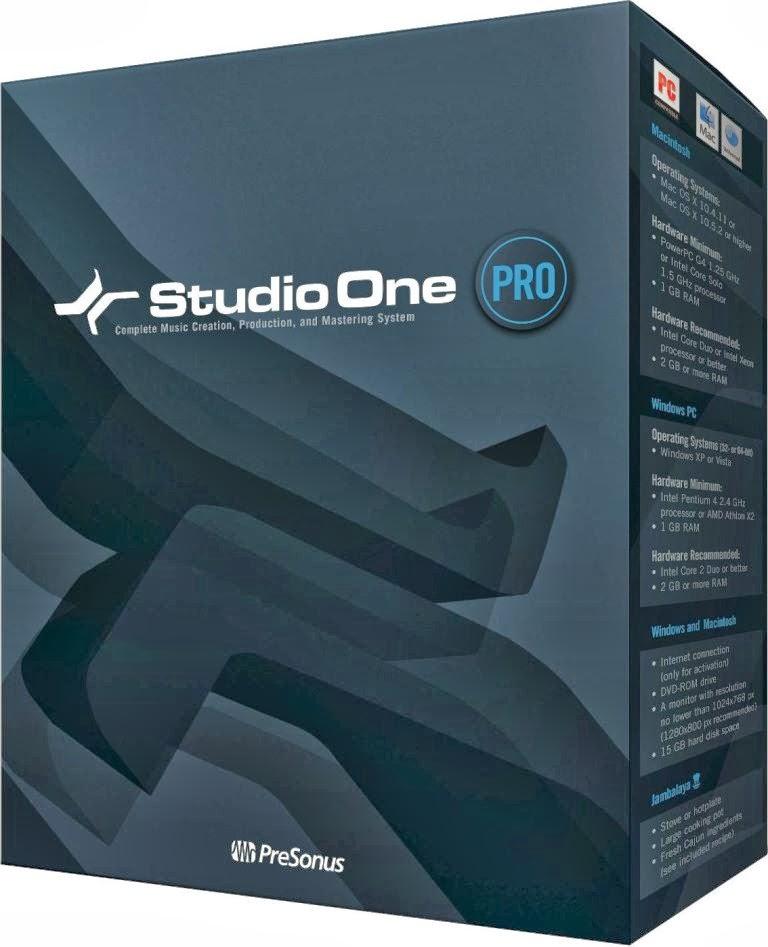 studio one 2 professional free download