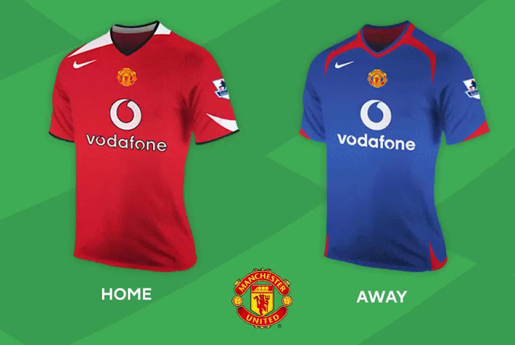 ccce3842c Here are All Home   Away Kits of the Premier League 05-06 - Footy ...