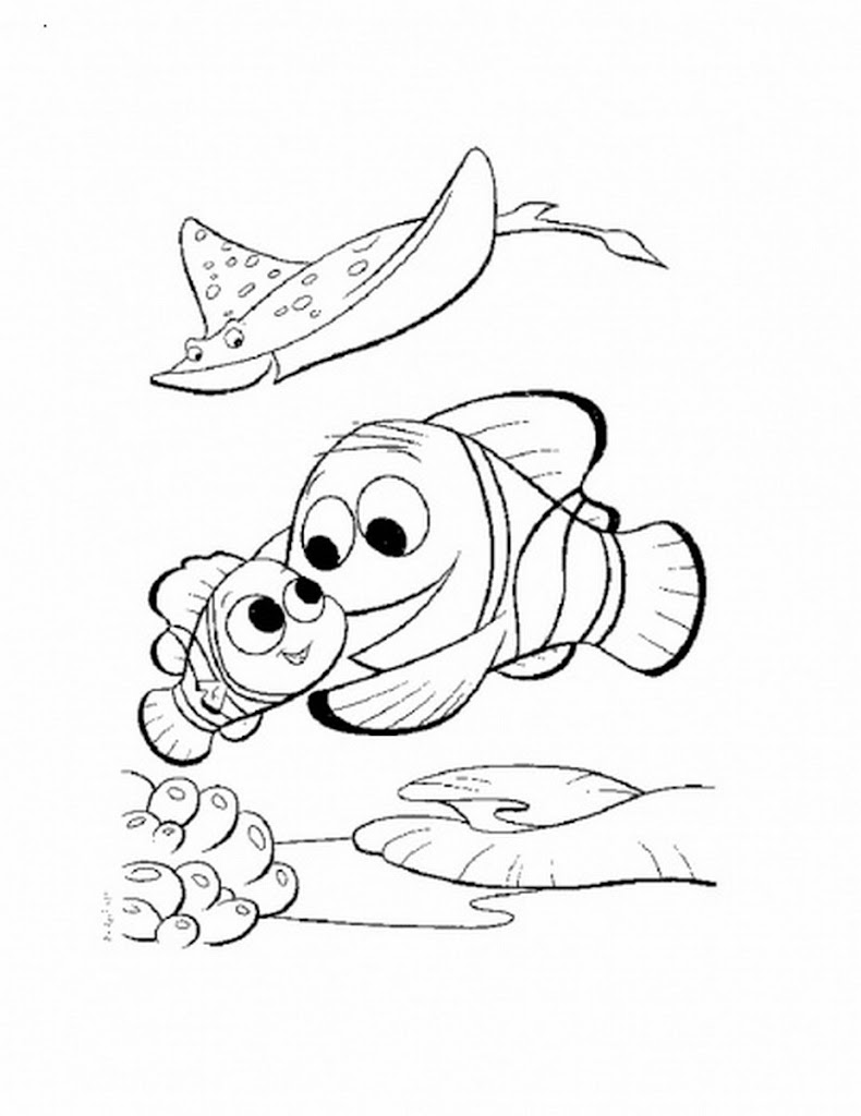 Best Hd Finding Nemo Crush Coloring Pages Image