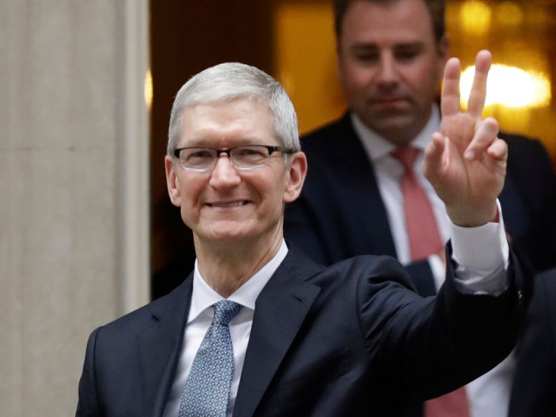 Apple CEO Tim Cook Donated Nearly $5 Million Worth Of ...