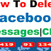 Delete Messages Facebook