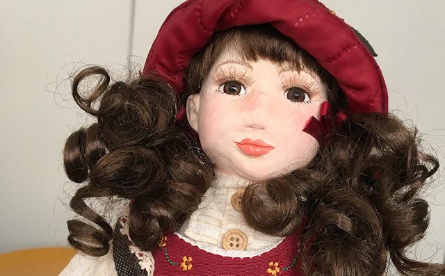 doll de porcelana com novo rostinho