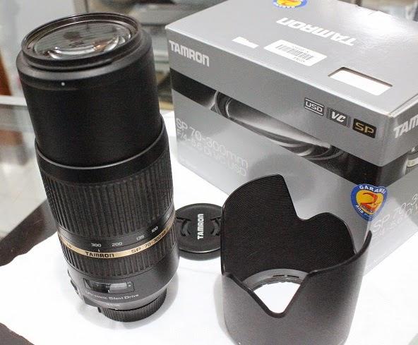 harga Lensa Tamron SP 70-300mm f4-5.6 Di VC USD