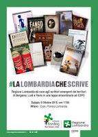 LombardiaCheScrive, vetrina internazionale scrittori emergenti: dichiarazioni dell'Assessore alle Culture, Identità e Autonomie di Regione Lombardia