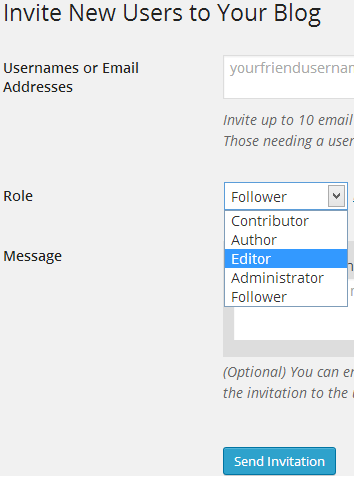 How to Invite New Users in WordPress