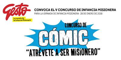 Bases para el V Concurso de Infancia Misionera: CÓMIC