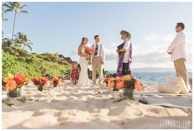 Maui Styled Beach Weddings