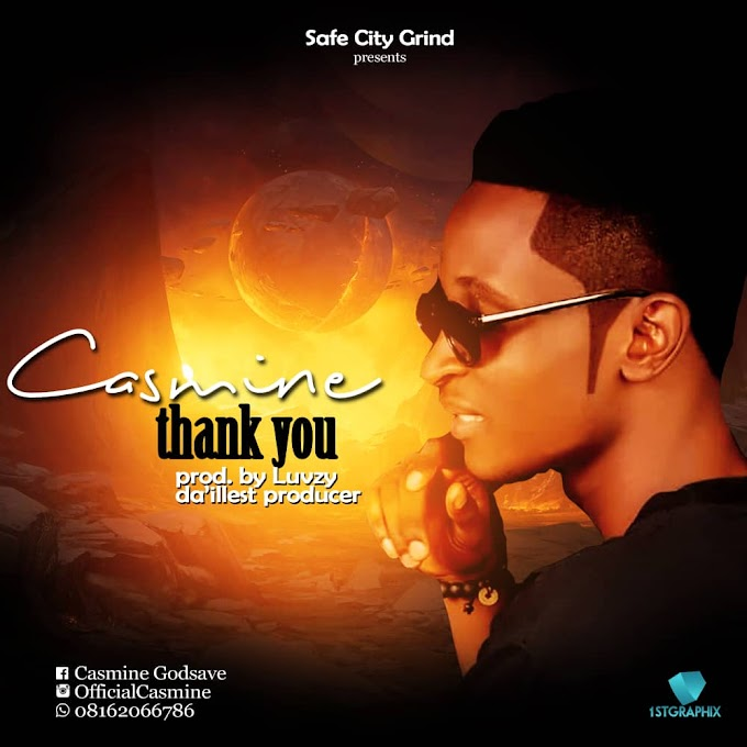 Download Music: Casmine Thank you [prod. By Luvzy]