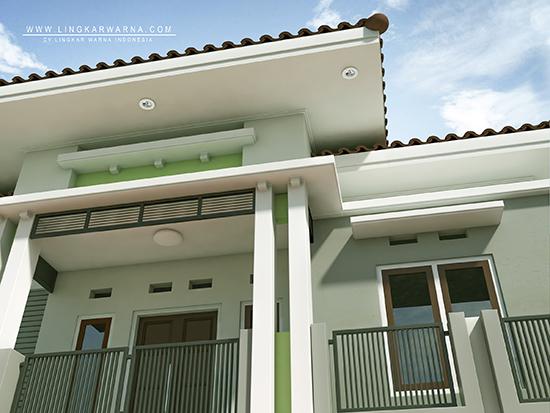 Desain rumah minimalis satu lantai luas 144m2 ~ Teknologi Konstruksi