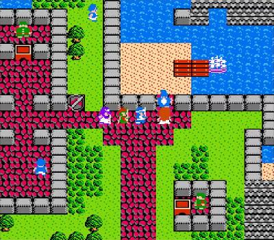 Dragon Warrior II - Barco