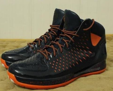 2a4126f68884 Here is a look at a sample pair of adidas adiZero Rose 3.0 Chicago Bears  Sneakers