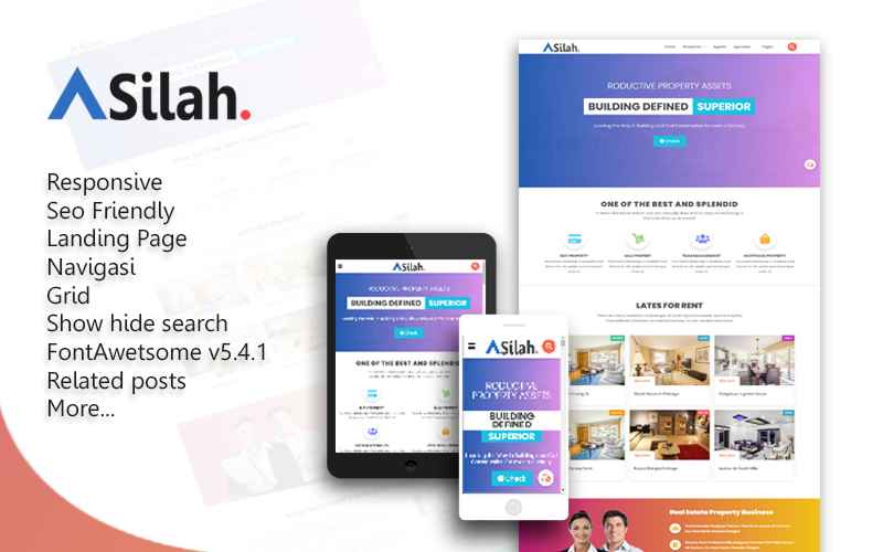 Asilah Blogger Template
