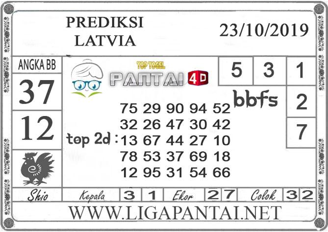 """PREDIKSI TOGEL """"LATVIA"""" PANTAI4D 23 OKTOBER 2019"""