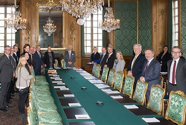 The consultative committee meeting was attended by King Carl Gustaf and Crown Princess Victoria of Sweden.
