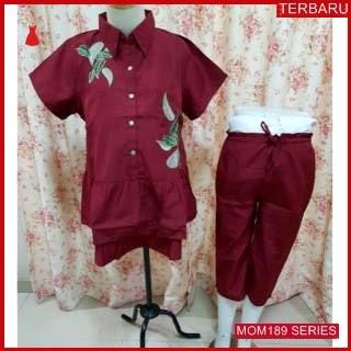 MOM189B16 Baju Setelan Hamil Daun Menyusui Bajuhamil Ibu Hamil