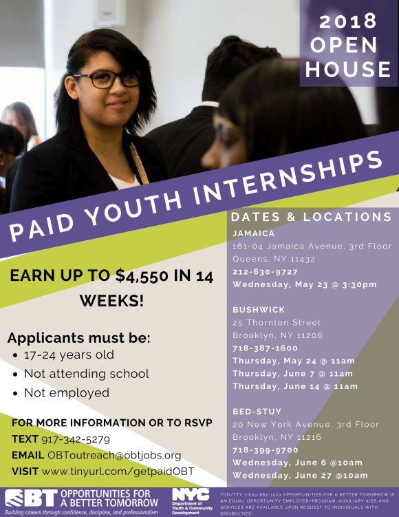 Southeast Queens Scoop Blog Streetwise Digital News Tell Young People About These Paid Internships Making 4 550 In 14 Weeks