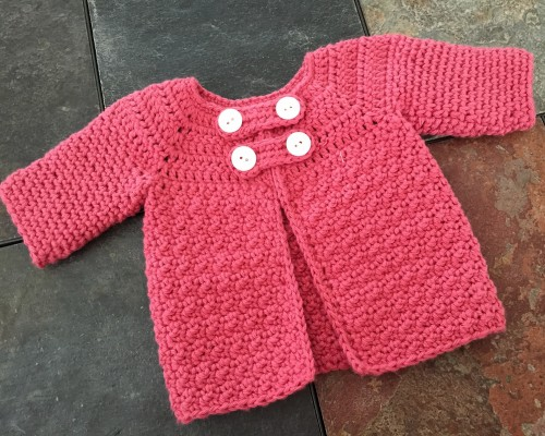 Buttoned Cardigan - Free Pattern